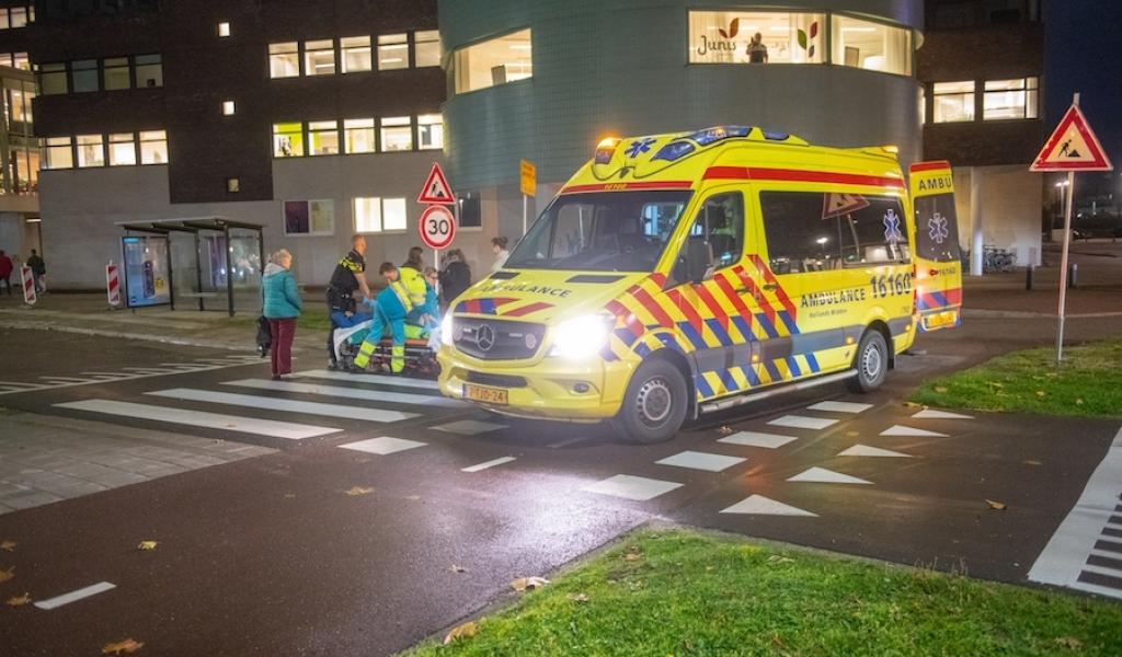 Fietser flink gewond na ongeval op de Laan der Continenten