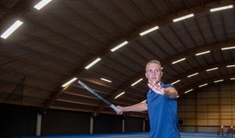 Jelle: 'Alphen is wat mij betreft een echte tennisstad'