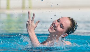 Einde carrière Van Eenennaam als synchroonzwemster