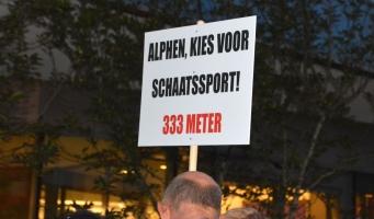 Er komt definitief een 250-meterbaan in Leiden