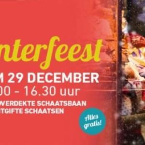Winterfeest bij winkelcentrum De Baronie