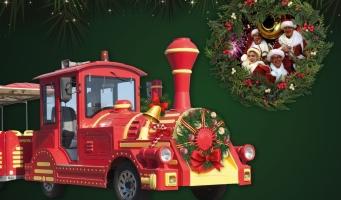 Vier Kerstmis in het Alphense centrum