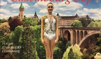 Ritmische gymnasten Wilskracht behalen goud en brons op internationaal toernooi