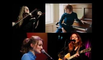 Theater, 4x Dutch female singer-songwriter