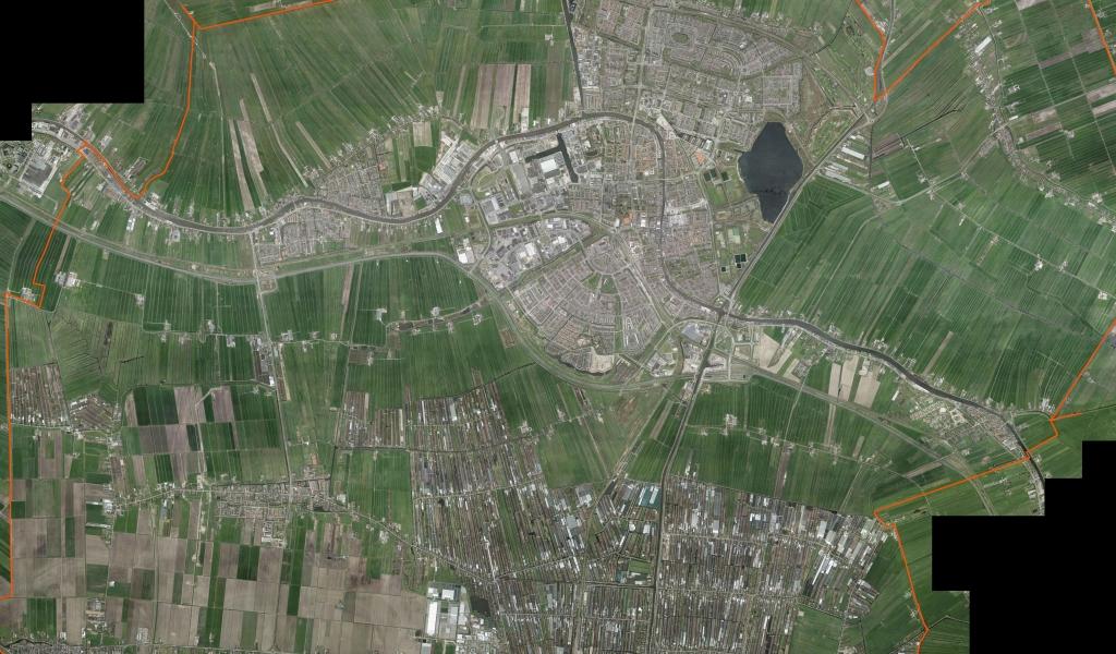 Luchtfoto Gemeente Alphen aan den Rijn 2018