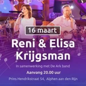 Concert Reni en Elisa Krijgsman