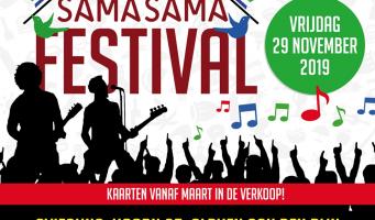 Sama Sama festival terug op 29 november 2019!