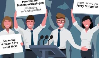 verkiezingsdebat Provinciale Statenverkiezingen