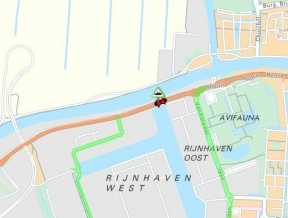 27 & 28 februari werkzaamheden Rijnhavenbrug