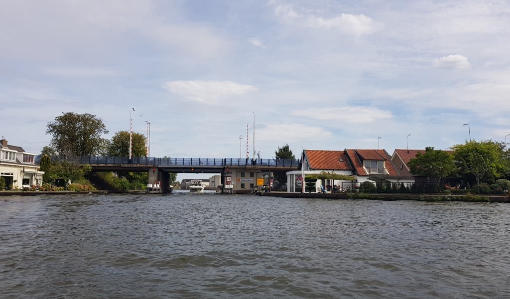 Steekterbrug in Alphen aan den Rijn