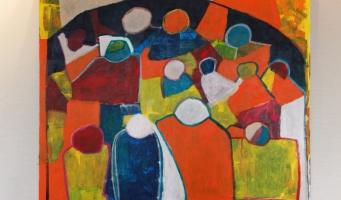 """Feestelijke opening expositie """"De Ontmoeting"""" van Atelier Verfstreken'"""