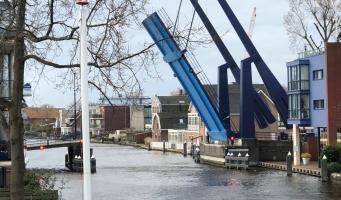 Swaenswijkbrug afgesloten door storing