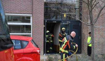 Brand bij MboRijnland, leerlingen zijn geëvacueerd