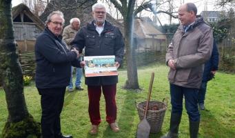 Archeon ontvangt subsidievoucher voor renovatie middeleeuwse boomgaard