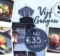 Geniet van culinair 5-gangenmenu bij 's Molenaarsbrug