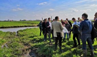 Met ondernemers en inwoners de bodemdaling ervaren in de praktijk
