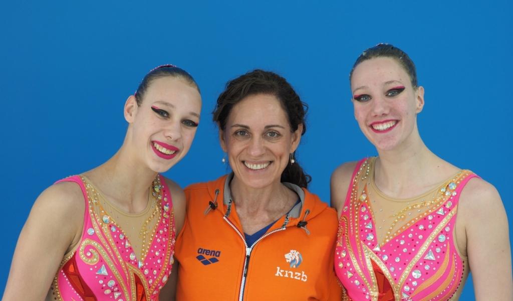 Merel Leuring en Maria Lorenzini van AZC winnen goud