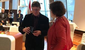 Erepenning voor PvdA raadslid Henk Goes