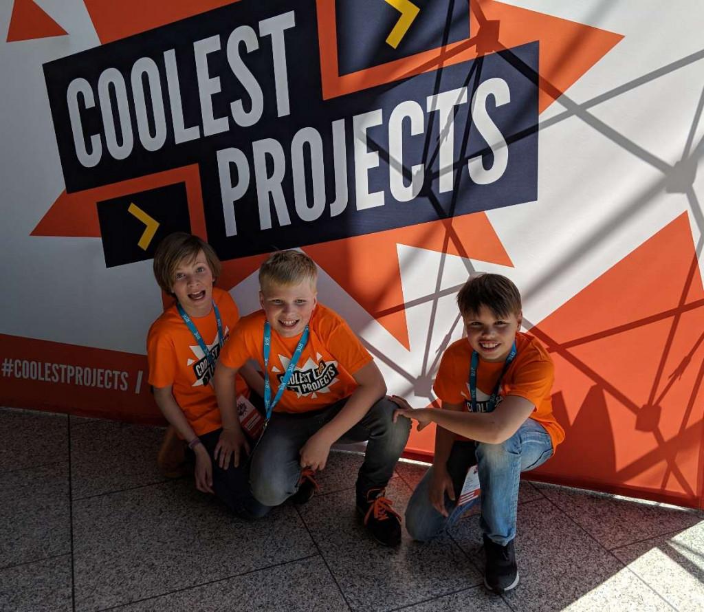 Alphense jongens doen mee aan CoderDojo Coolest Projects International in Ierland