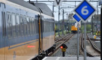 Geen treinen tussen Alphen - Leiden
