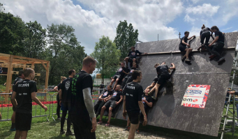 Eerste dag Obstacle Run van start