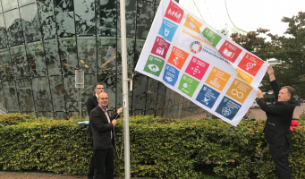 Global Goals vlag