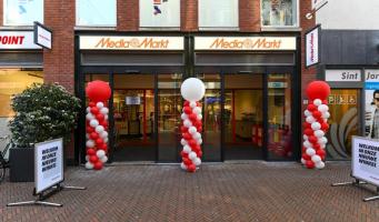 Mediamarkt nieuwe ingang