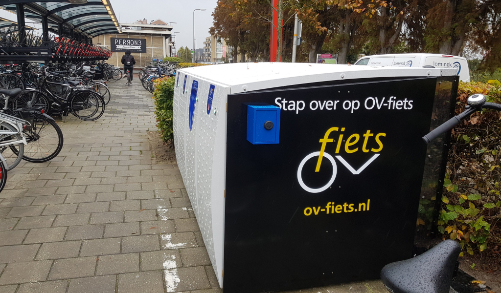 OV-fietsen in Boskoop