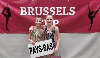 Brons voor Femke in Brussel
