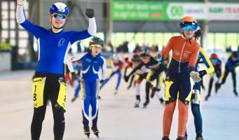 Sem Spruit Nederlands kampioen marathonschaatsen