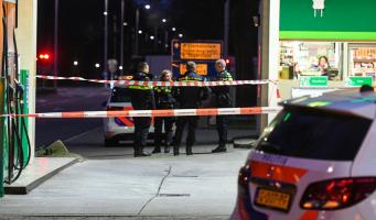 Tankstation in Alphen overvallen