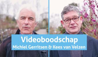 Videoboodschap Kees van Velzen: 'De kwekerijsector heeft het zwaar'