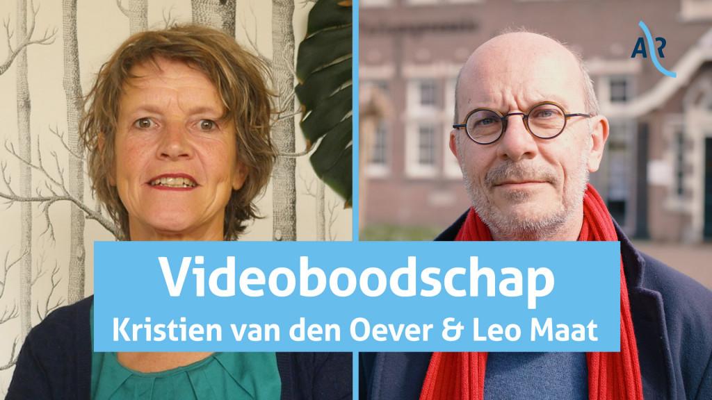 Videoboodschap Leo Maat: 'Cultuur leeft altijd door'