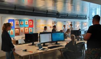 Architectenbureau wordt tijdelijk politiebureau voor eindmusical