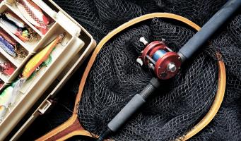 vissen visserij hengel