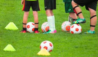 sport voetbal kinderen